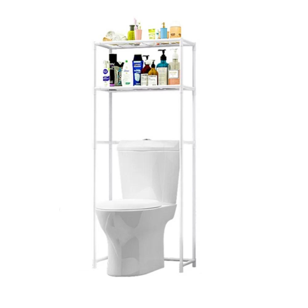 53 2 tier bathroom shelf over the toilet rack laundry washing machine bathroom shelf space saver storage rack