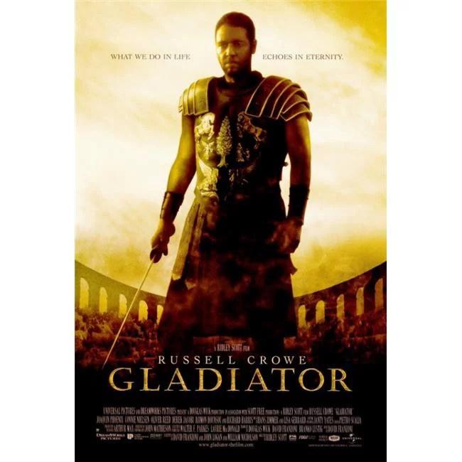 pop culture graphics movaf9279 gladiator movie poster print 27 x 40