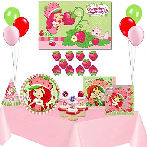 Strawberry Shortcake Birthday Party Supplies Complete Set Walmart Com Walmart Com