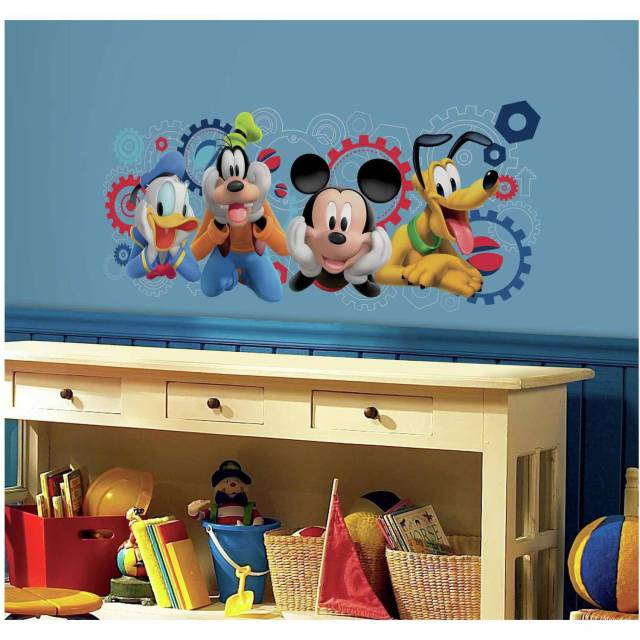 Mickey and Friends Mickey Mouse Clubhouse Capers Peel and Stick