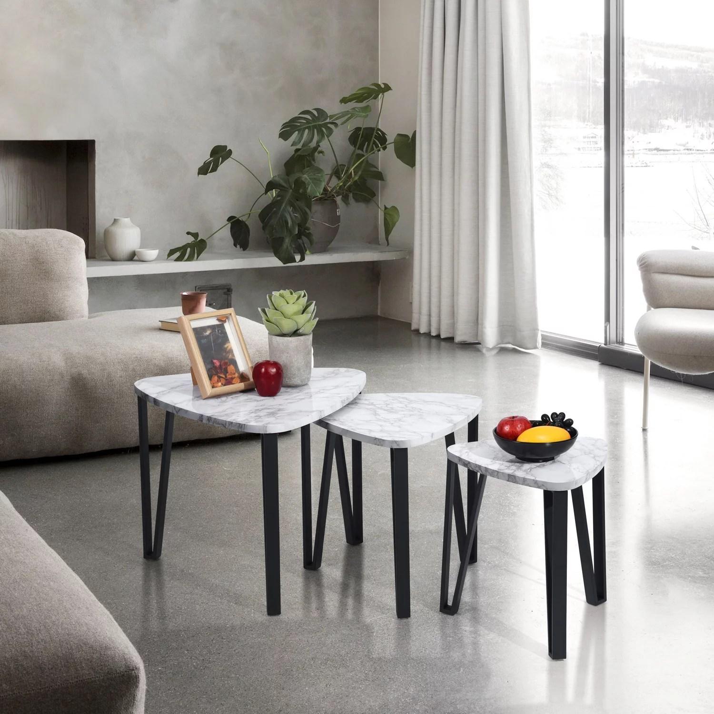 furniturer nesting coffee tables set of
