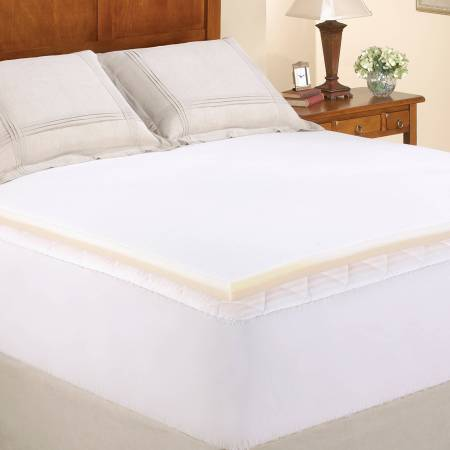 Mainstays 1 5 Memory Foam Combo Mattress Topper