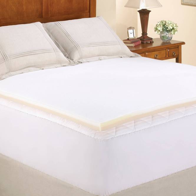 Serta 4 Pillow Top And Memory Foam Mattress Topper King
