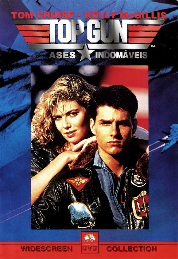 top gun 1986 11x17 movie poster brazilian