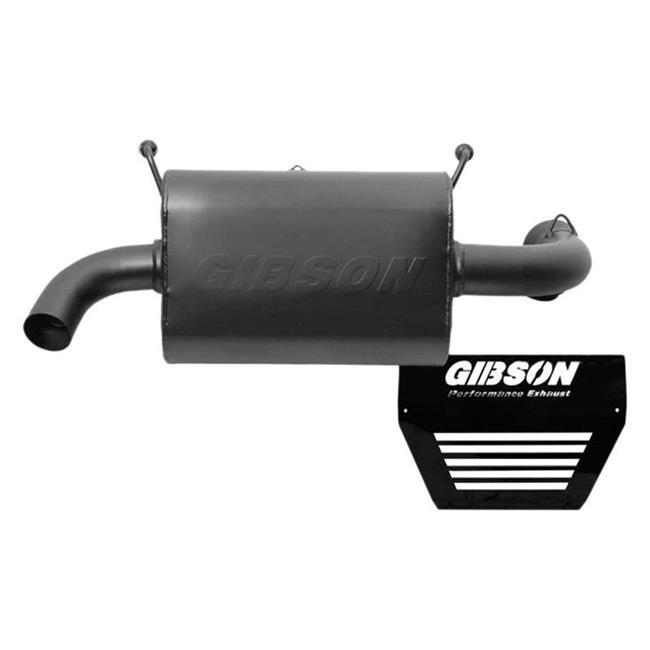gibson exhaust g27 98020 2015 2017 polaris rzr xp 1000 eps utv series stainless steel single exhaust system