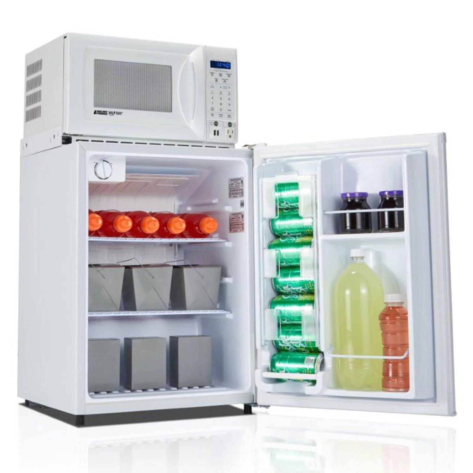 microfridge all refrigerator microwave combo appliance black 2 3 cu ft
