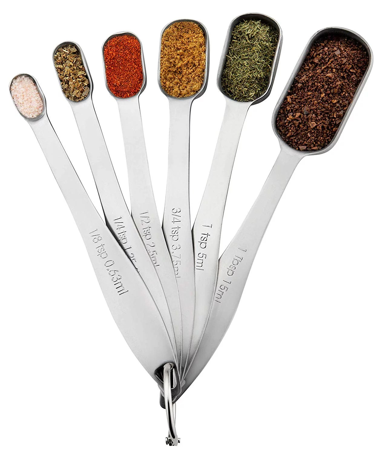 Clearance Measuring Spoons Sets Of 6 With Tablespoon