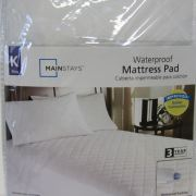 Mainstays Waterproof Mattress Pad King Size