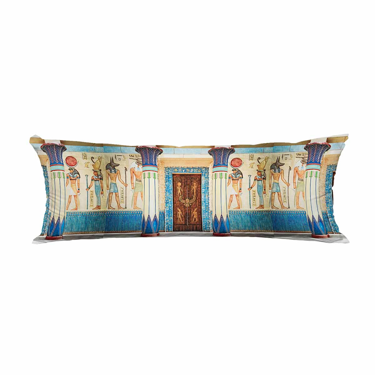 pkqwtm ancient egyptian writing stone egypt ancient egypt long body pillow case cover pillow cushion size 20x60 inches