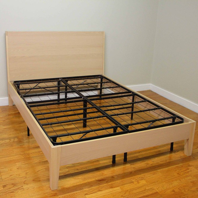 Modern Sleep Platform Metal Bed Frame Mattress Foundation