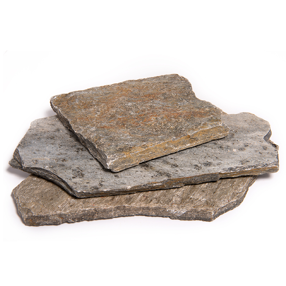 flagstone patio pavers natural stepping stone driveway walkway rock