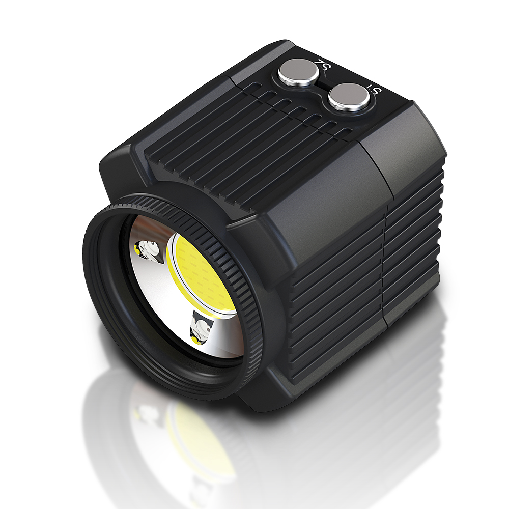 mini rechargeable led video light diving photography lamp underwater 60m waterproof ipx8 camping lighting for drone gopro dslr cameras camcorders