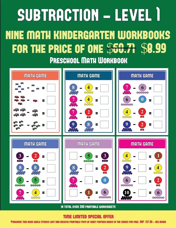 Preschool Math Workbook Preschool Math Workbook