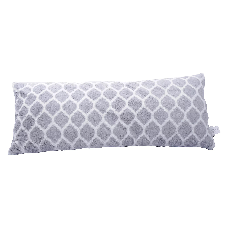 your zone trellis patterned body pillow 1 each multiple colors walmart com walmart com