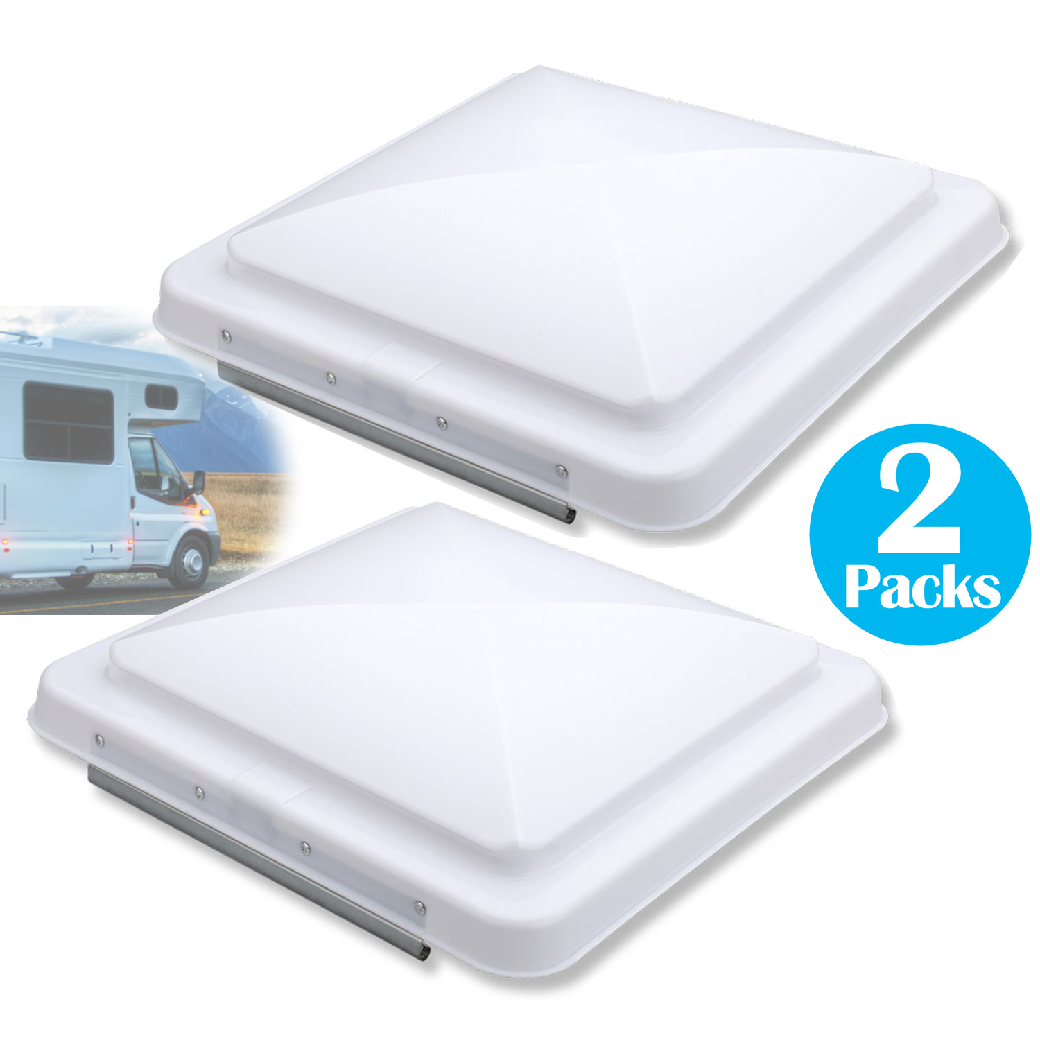 2 packs 14 car rv vents replacement rv roof vent cover for camper trailer motorhome