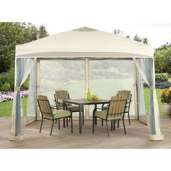 Better Homes and Gardens 10  x 10  Lawrence Outdoor Portable Patio     Better Homes and Gardens 10  x 10  Lawrence Outdoor Portable Patio Gazebo