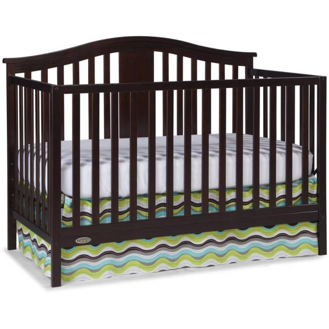 Graco Solano 4 In 1 Convertible Crib And Mattress Espresso