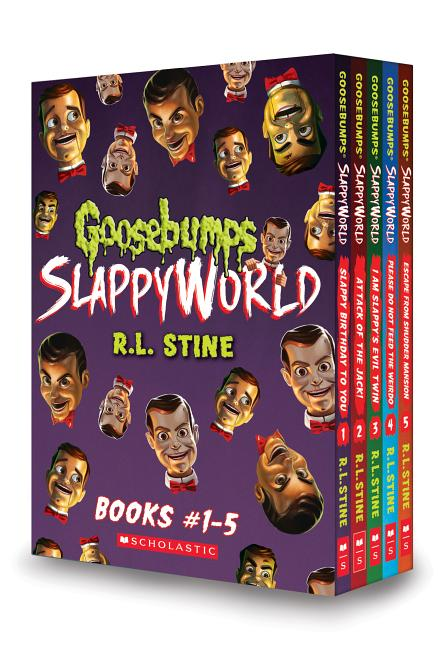 Goosebumps Slappyworld Goosebumps Slappyworld Box Set Books 1 5 Other Walmart Com Walmart Com