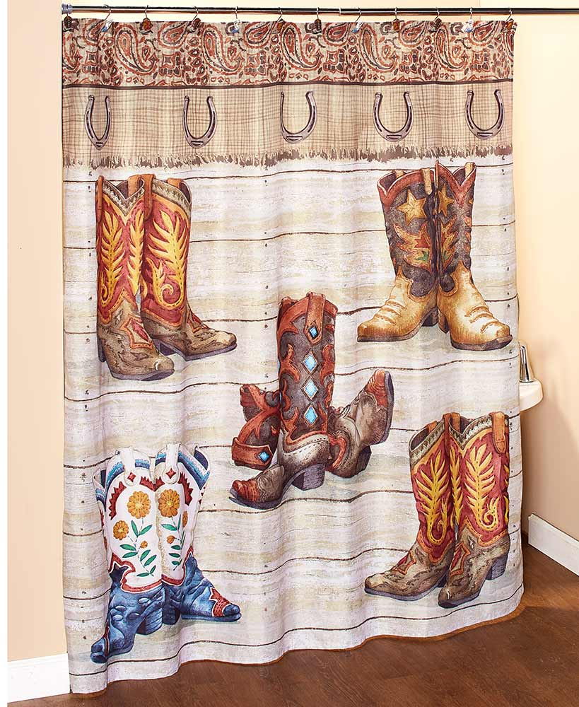 western wear bathroom collection choice of toothbrush holder set of 12 shower hooks soap lotion pump set of 2 hand towels valance rug or shower