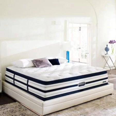 Beautyrest Recharge World Class Sea Glen Plush Super Pillow Top King Size Mattress Set