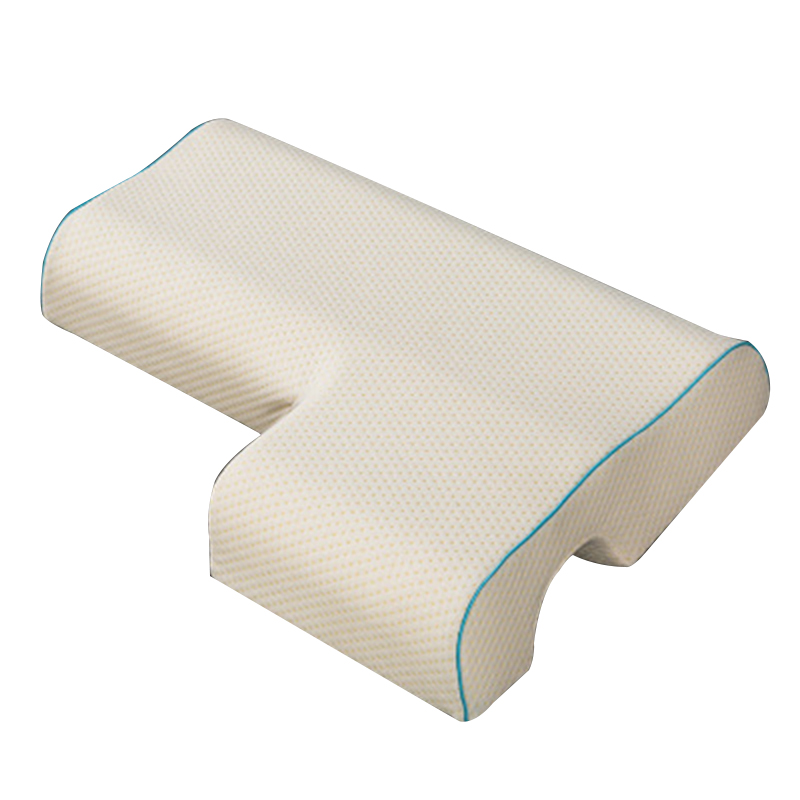 valinks couples pillow arched cuddle pillow with slow rebound memory foam for arm rest hand pillow walmart com