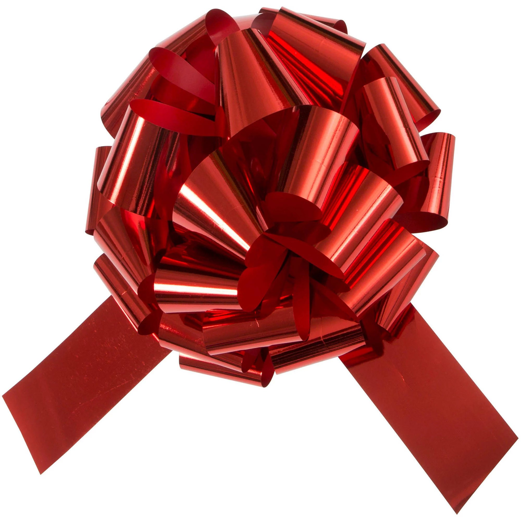 Giant Car Bow 18 In Red 1ct