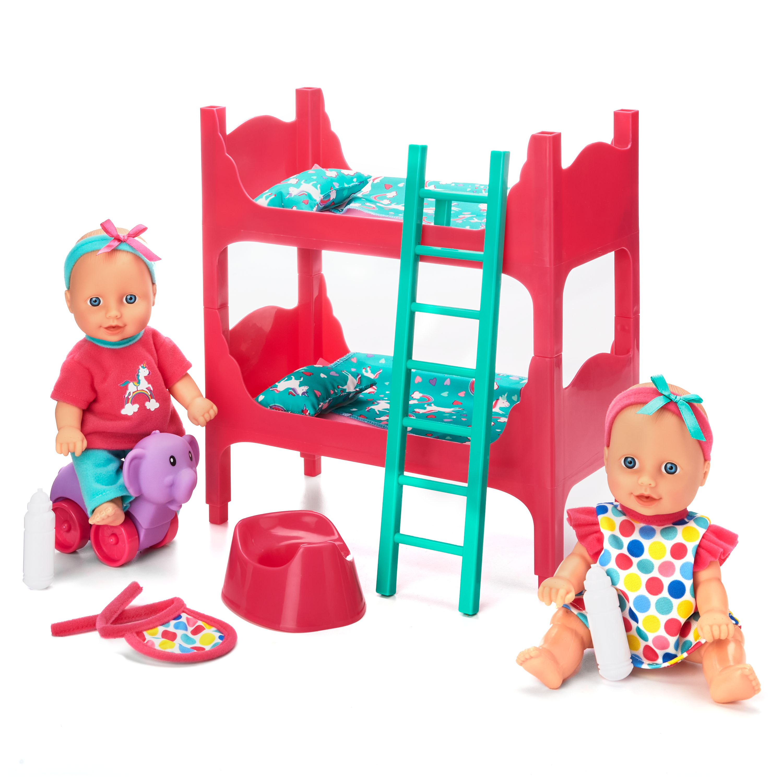 Kid Connection Baby Room Play Set 22 Pieces Included Walmart Com Walmart Com