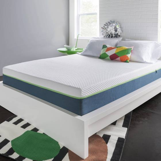 Homedics 10 Air Gel Deluxe Memory Foam Mattress Multiple Sizes