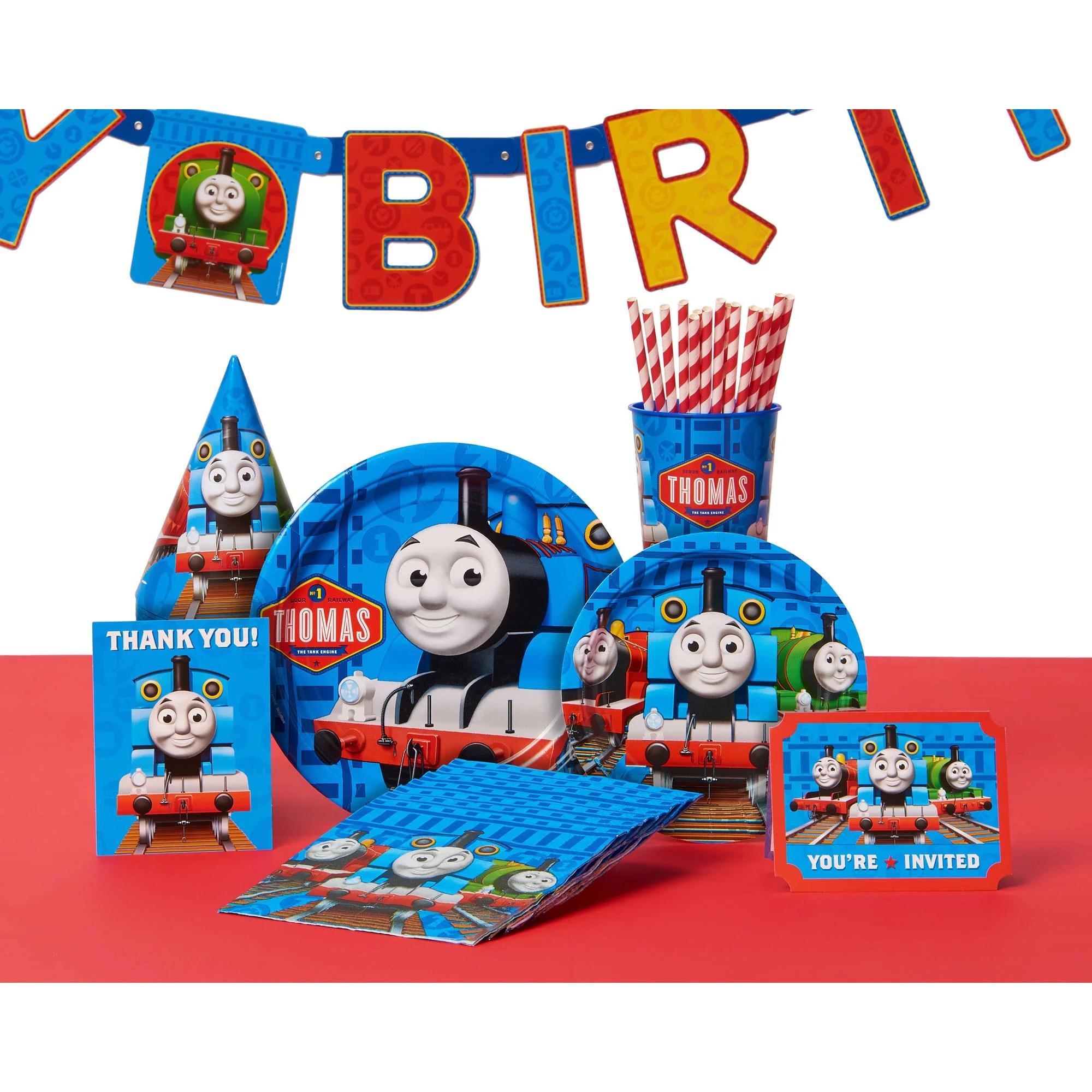 American Greetings Thomas And Friends Birthday Party Banner Walmart Com Walmart Com