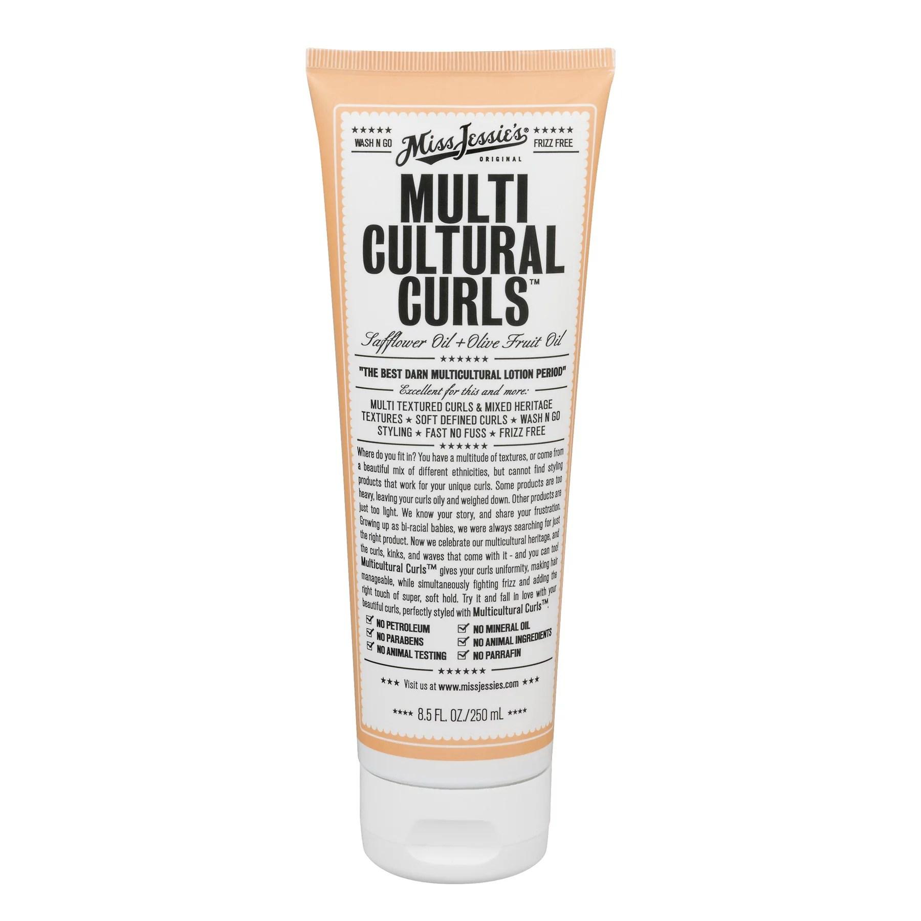 miss jessie s multicultural curls hair styling cream 8 5 oz walmart com