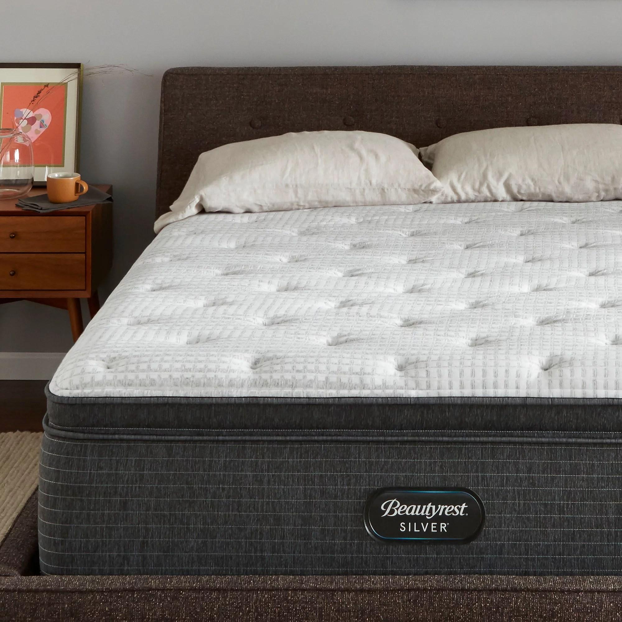 beautyrest silver brs900 c plush pillow top mattress
