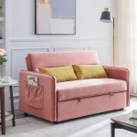 Sectional Sofa Pull Out Sleeper Modern Convertible Sofa Bed Couches And Sofas With Storage 2 Pillows Furniture For Home Red Walmart Com Walmart Com