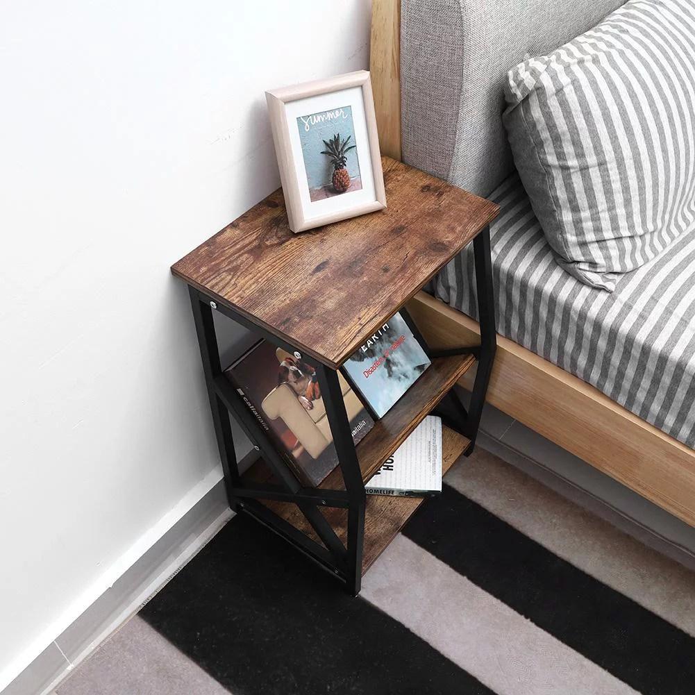 book shelf furniture black finish wood