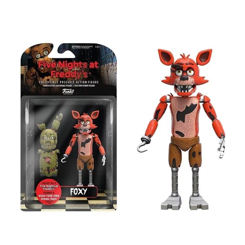 Five Nights At Freddy S Action Figure Foxy Walmart Com Walmart Com
