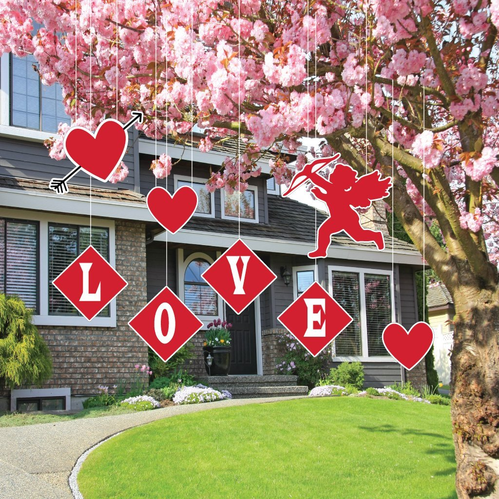 Outdoor Valentines Decorations Home Decorating Ideas