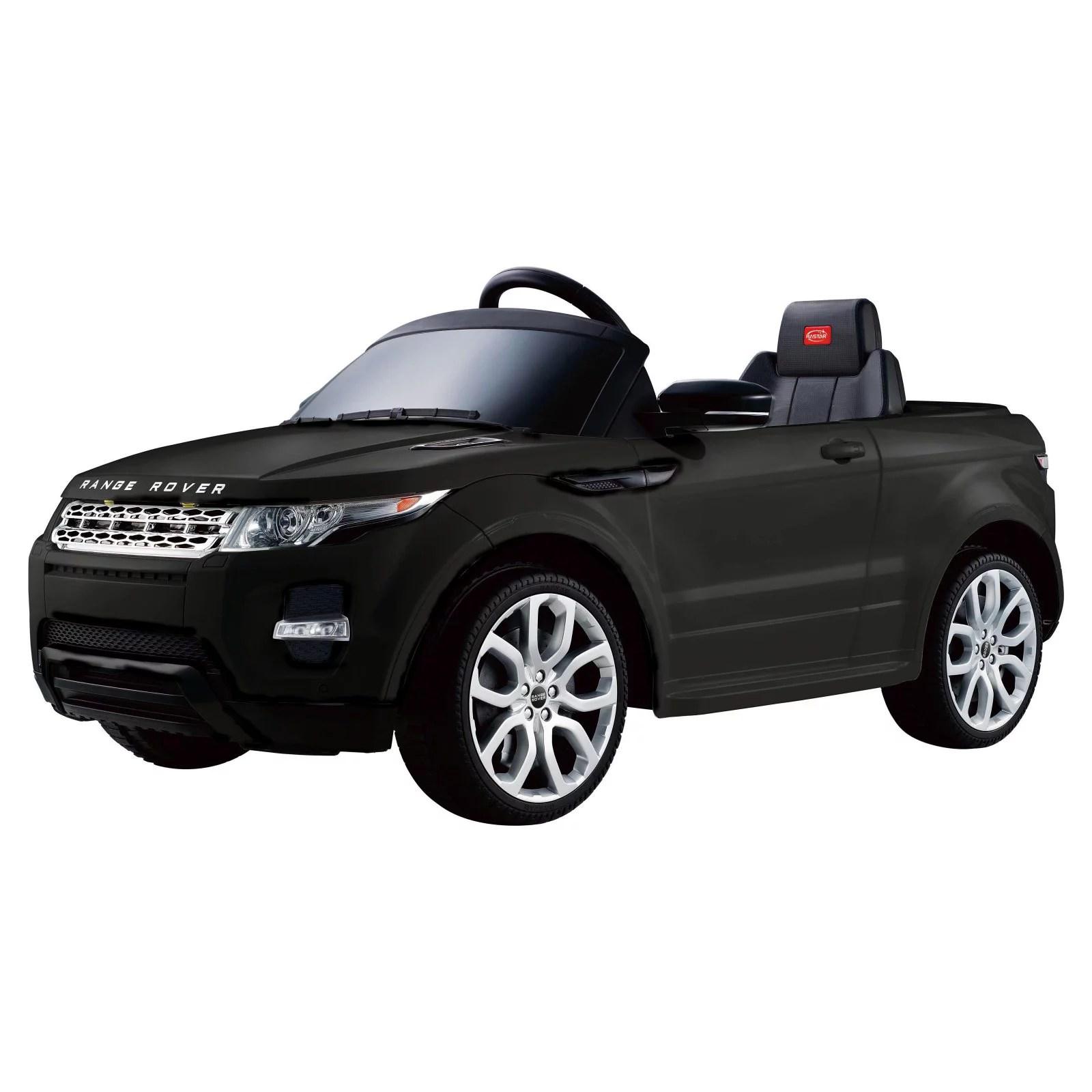 Range Rover Evoque 12V Ride Black Walmart