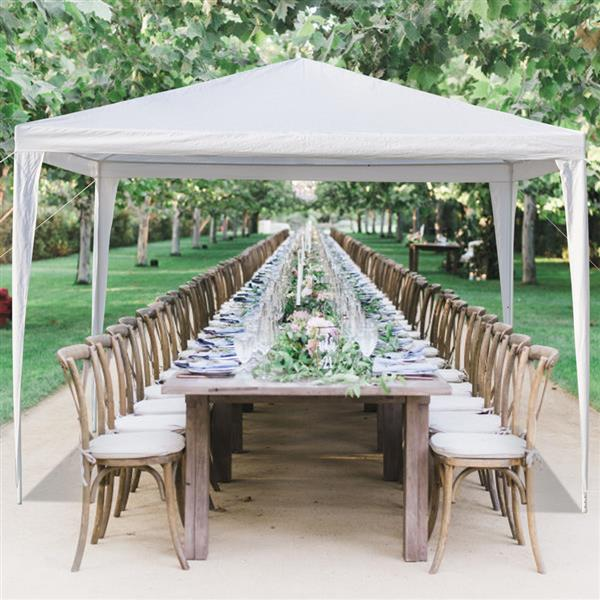 gazebo bbq canopy tent for garden sunshade outdoor gazebo bbq shelter pavilion with 4 removable sidewalls sun snow rain shelter gazebo canopy tent
