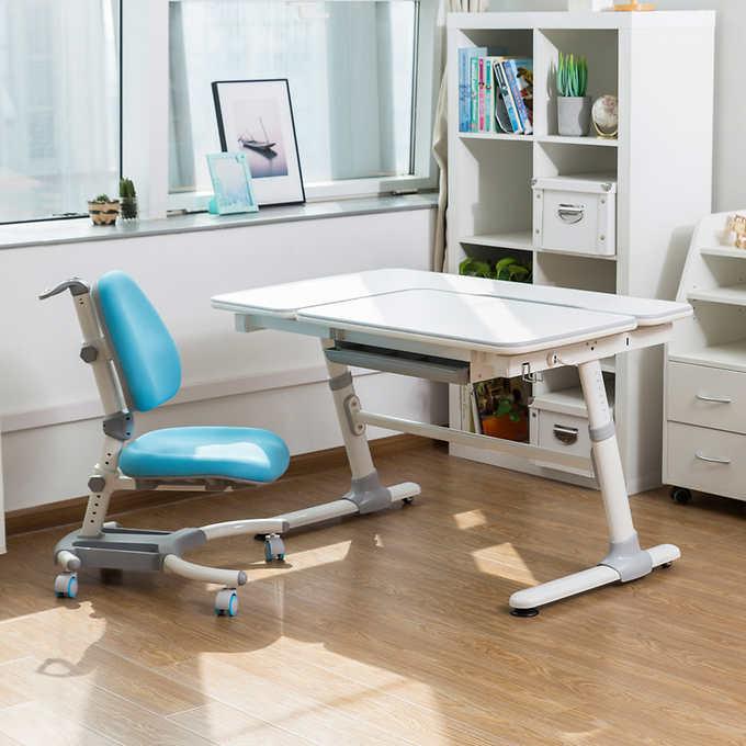 bureau et chaise ergonomiques pour