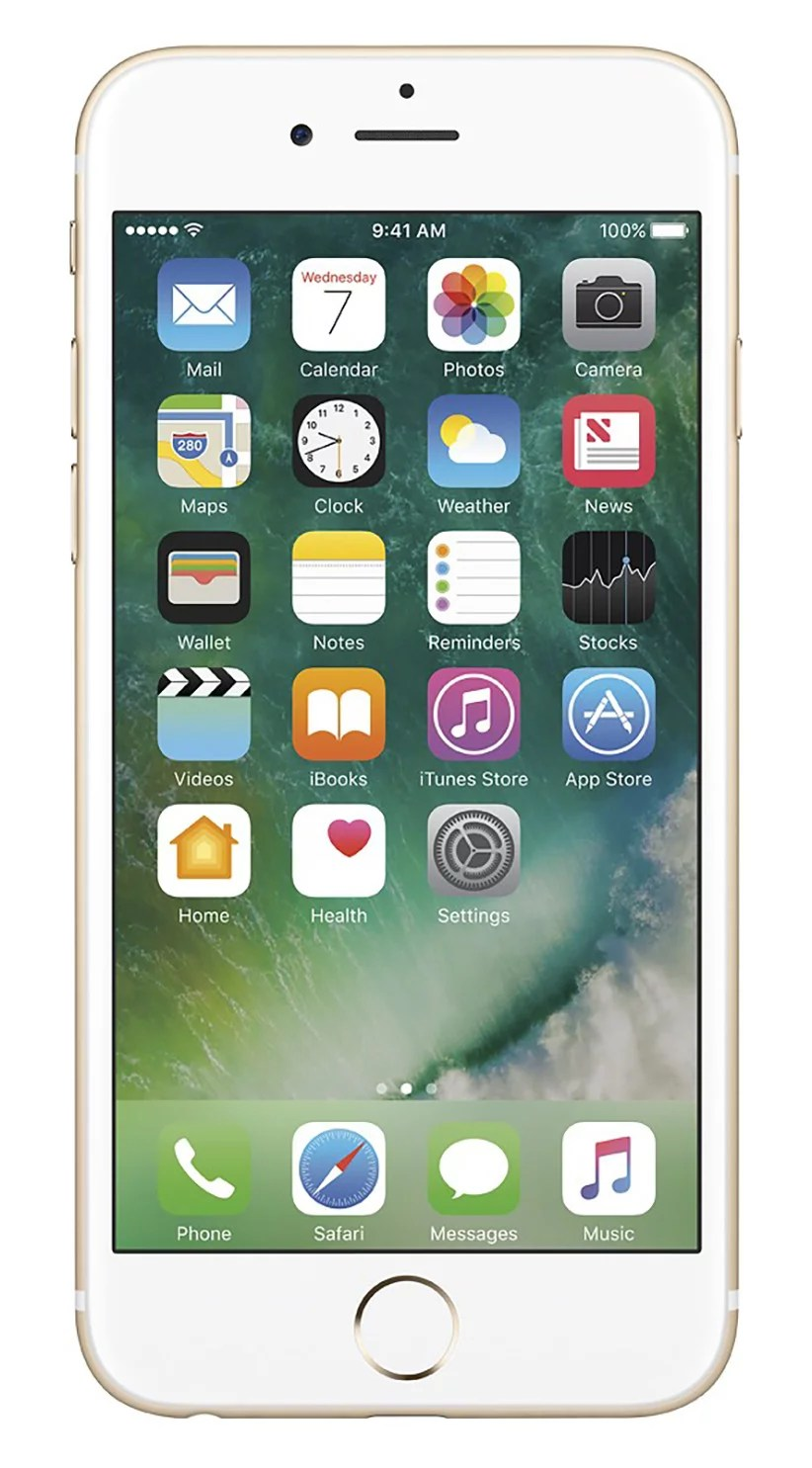 Apple iPhone 6s (Refurbished) 128GB, Gold – Unlocked GSM