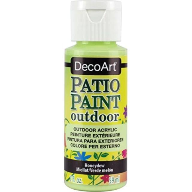 decoart patio paint 2 ounce honeydew walmart com