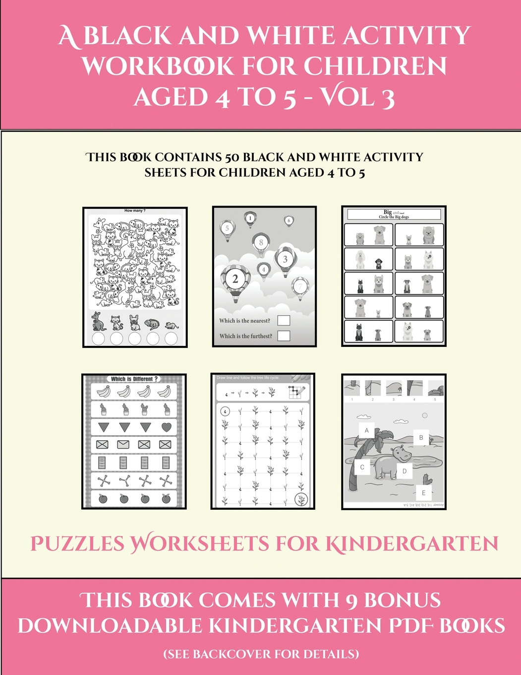 Puzzles Worksheets For Kindergarten Puzzles Worksheets
