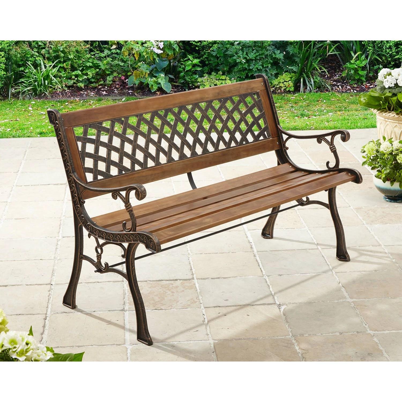 Loveseat Garden Bench