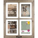 Better Homes Gardens 18 12 X 1 00 X 22 12 4 Openings Rustic Windowpane Collage Frame Walmart Com Walmart Com