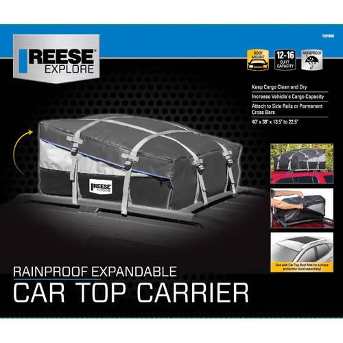 reese explore expandable cartop carrier