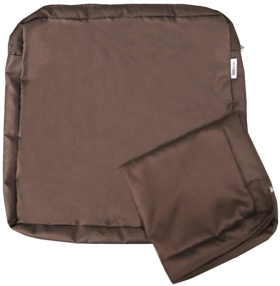outdoor 4 pack deep seat chair patio cushions zipper cover 18 x16 x4 16 x18