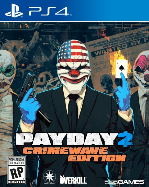 Payday 2  Crimewave  505 Games  PlayStation 4  812872018522     Payday 2  Crimewave  505 Games  PlayStation 4  812872018522