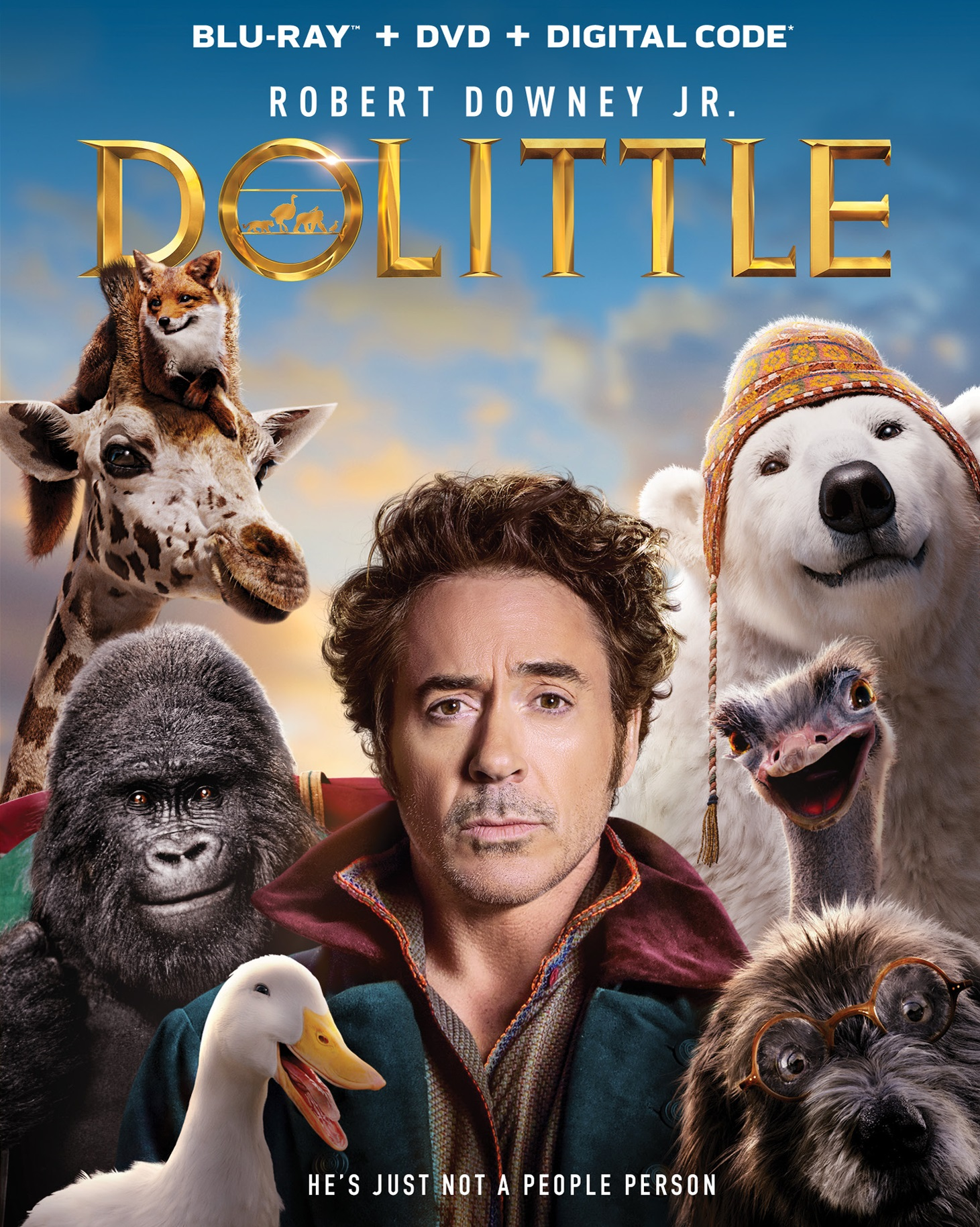 Dolittle (Blu-ray + DVD + Digital Copy)