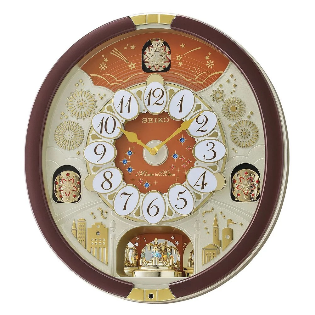 Seiko Special Edition Melodies In Motion Wall Clock With