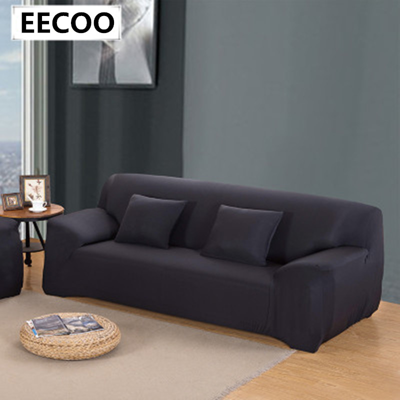 sofa couch cover easy fit stretch covers elastic fabric settee protector slipcover washable solid