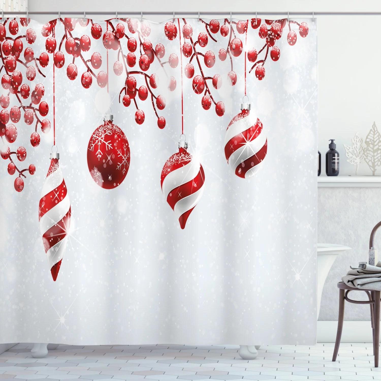 christmas shower curtains walmart com